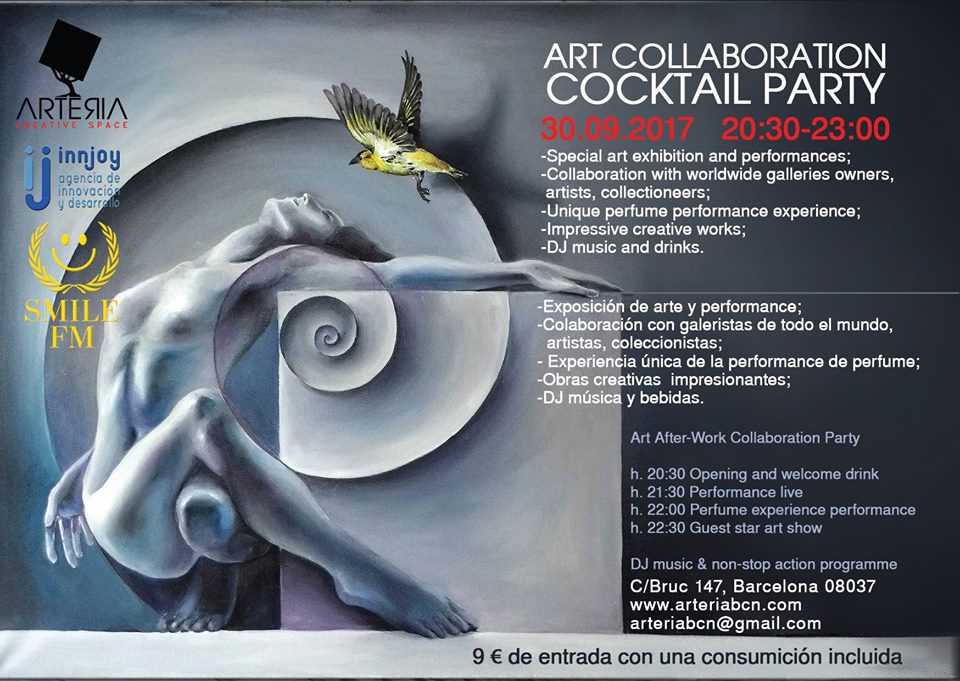 Art Collaboration Cocktail Party