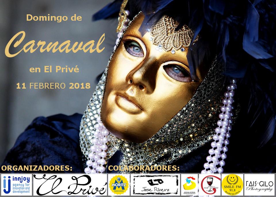 Domingo de Carnaval en El Privé 2018