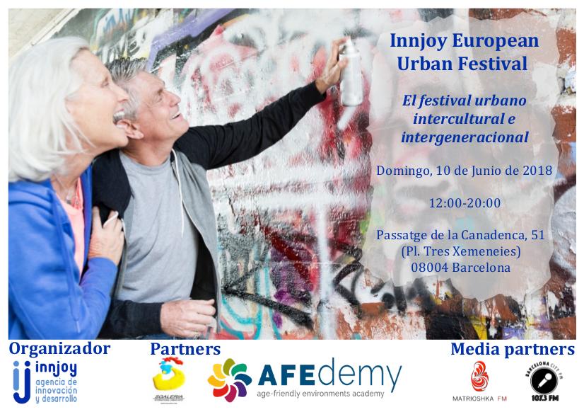 Innjoy European Urban Festival – BCN 10.06.2018