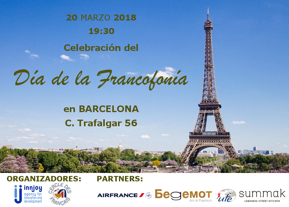 2018 Innjoy International Francophony Day – BCN 20.03.2018