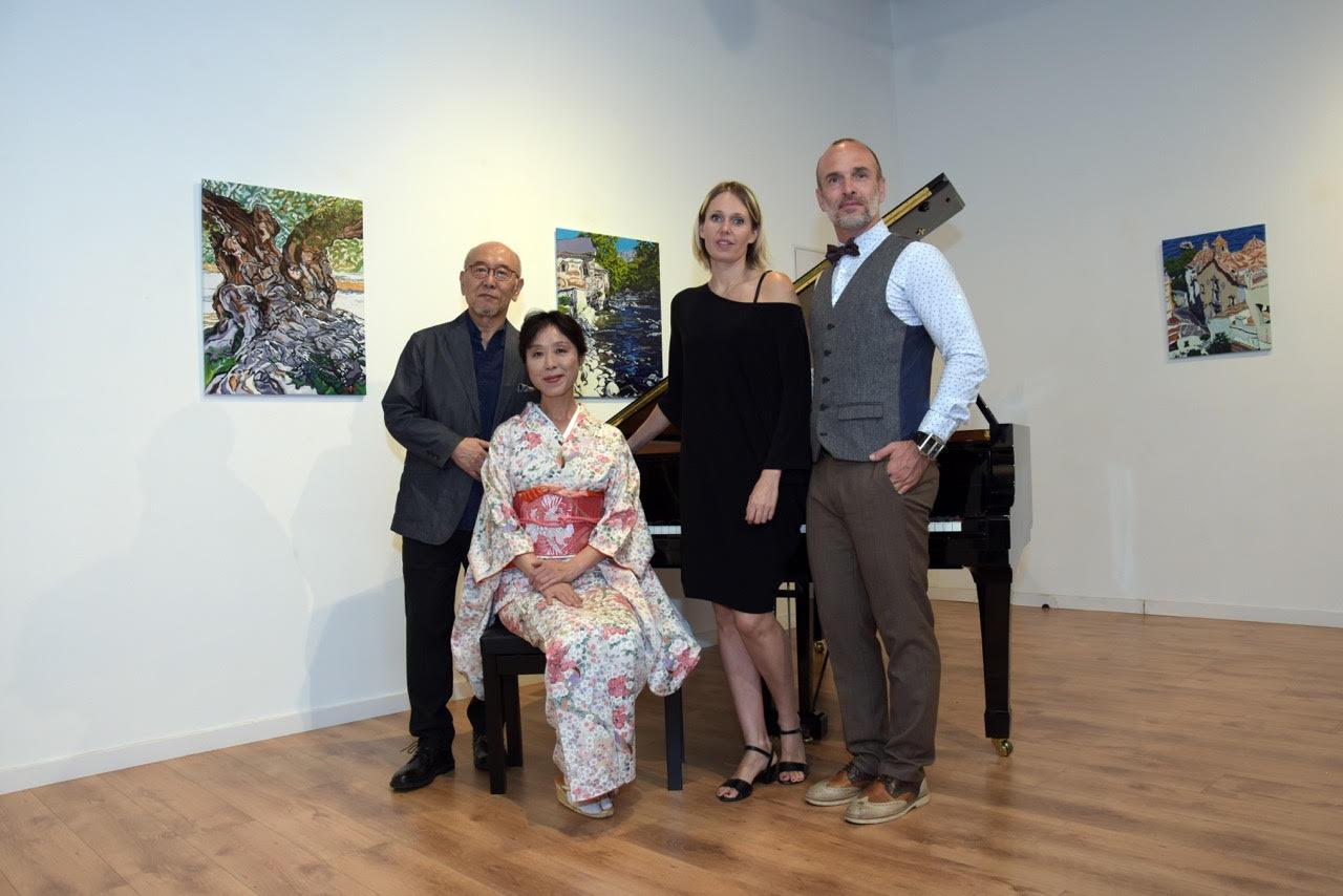 Yoko Suzuki, Tatsuji Ohara and organisers title=Yoko Suzuki, Tatsuji Ohara and organisers